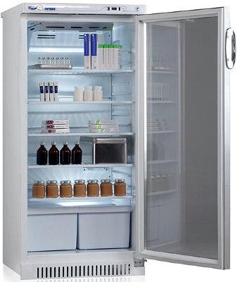 Фармацевтический холодильник Pozis ХФ-250-3 тонированние стекло