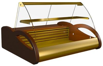 Витрина кондитерская Полюс А87 SV 1,0-1 (ВХСн-1,0 Арго Люкс)