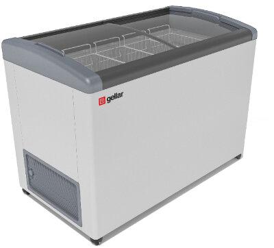Морозильный ларь Gellar FG 400 E серый