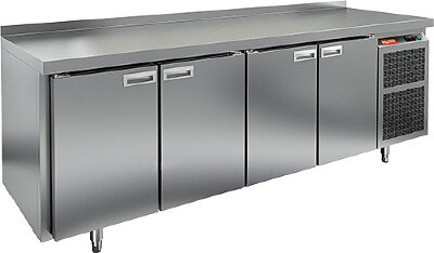 Холодильно-морозильный стол Hicold SN 1/TN-111/BT