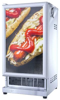 Тепловой шкаф для пирожков и хот-догов Atesy Фиолент ШТХ-24-350.350-01