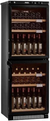 Двухзонный винный шкаф Pozis ШВД-78