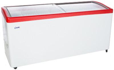 Морозильный ларь Снеж МЛГ-700 (красный)