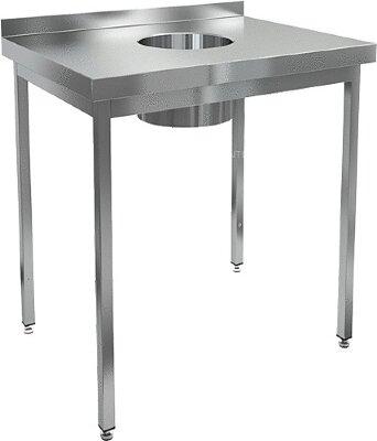 Стол для сбора отходов Hicold НДСО-6/7Б