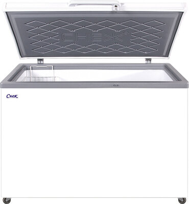 Морозильный ларь Снеж МЛК-400 серый