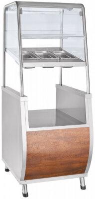 Прилавок для столовых приборов Abat Премьер ПСПХ-70Т кашир.