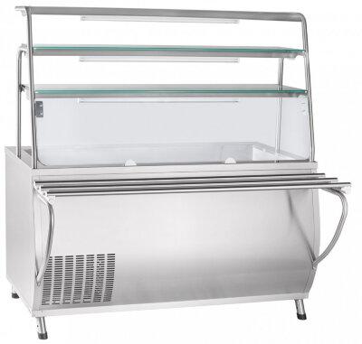 Прилавок холодильный Abat Премьер ПВВ(Н)-70Т-01-НШ