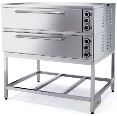Шкаф пекарский Марихолодмаш ШПЭ10-2 (под углеродистая сталь)