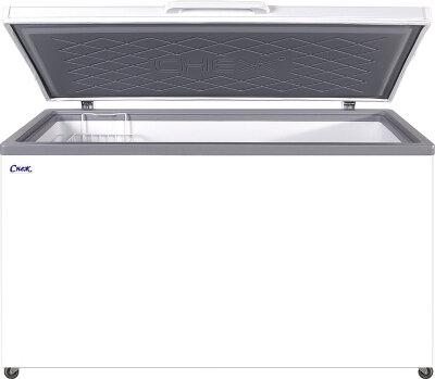 Морозильный ларь Снеж МЛК-500 серый