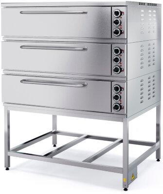 Шкаф пекарский Марихолодмаш ШПЭ10-3 (под углеродистая сталь)