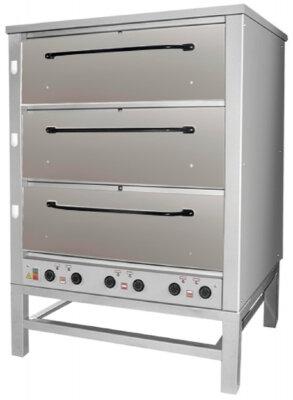 Печь хлебопекарная Восход ХПЭ-500 (нерж.) в обреш