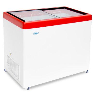 Морозильный ларь Снеж МЛП-350 (красный)