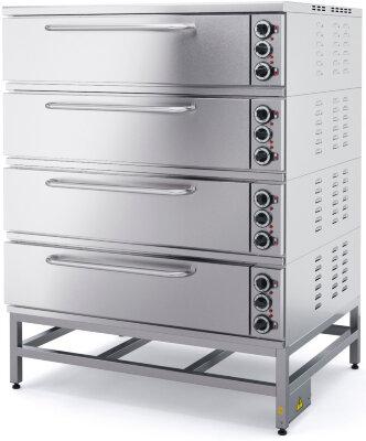 Шкаф пекарский Марихолодмаш ШПЭ10-4 (под углеродистая сталь)