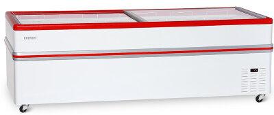 Ларь-бонета Снеж BF Bonvini 2500 L красный (без агрегата)