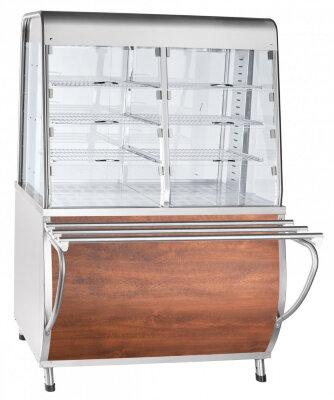 Прилавок-витрина тепловой Abat Премьер ПВТ-70Т кашир.