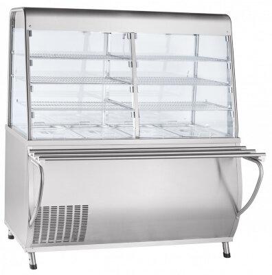 Прилавок-витрина холодильный Abat Премьер ПВВ(Н)-70Т-С-01-НШ