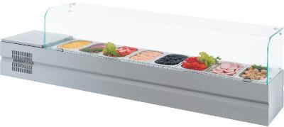 Холодильная витрина для ингредиентов Atesy Болоньезе-8