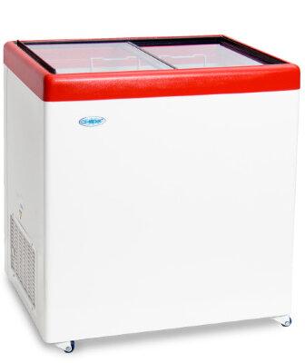 Морозильный ларь Снеж МЛП-250 (красный)
