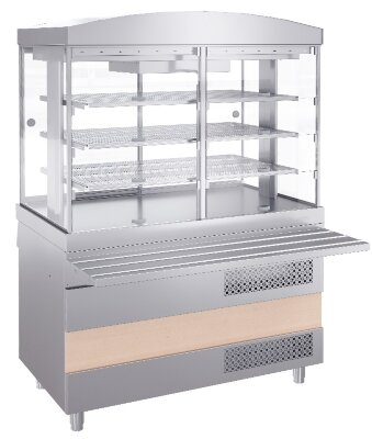 Витрина холодильная Atesy Ривьера ХВ-1200-02