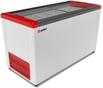 Морозильный ларь Gellar FG 500 C красный