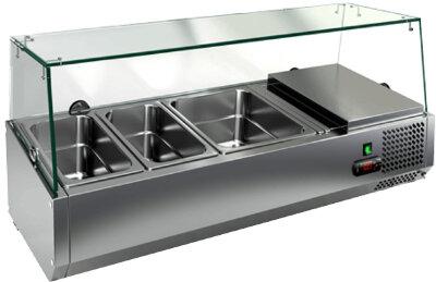 Холодильная витрина для ингредиентов Hicold VRTG 1835 к PZ3