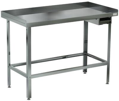 Стол для разделки мяса Кобор СМ-120/80/430