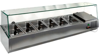 Холодильная витрина для ингредиентов Hicold VRTG 1390 к PZ3