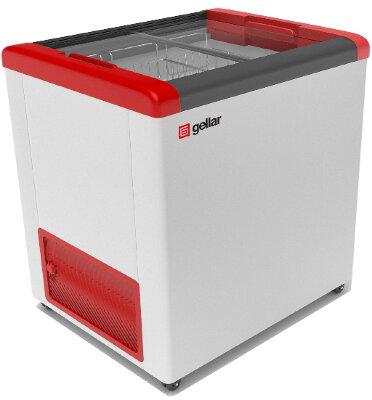 Морозильный ларь Gellar FG 250 C (FG 200C) красный