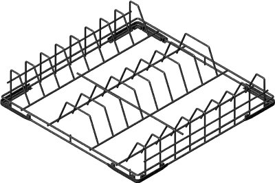 Кассета для тарелок Smeg WB50D01
