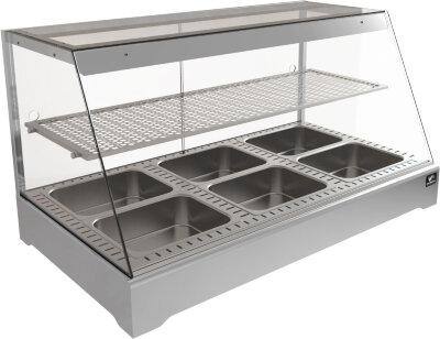 Тепловая витрина Кобор СR1-117H Silver