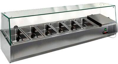 Холодильная витрина для ингредиентов Hicold VRTG 1425 к PZ4