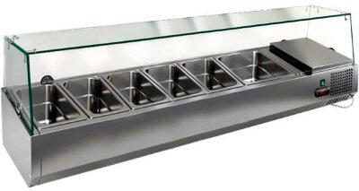 Холодильная витрина для ингредиентов Hicold VRTG 1485 к PZE3