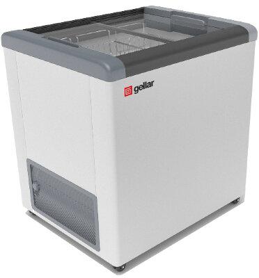 Морозильный ларь Gellar FG 250 C (FG 200 C) серый